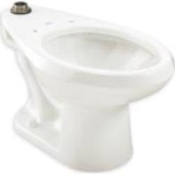 American Standard 2624001.020 Madera 1.1-1.6 GPF Universal Flushometer Toilet and Back Spud