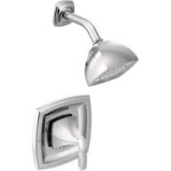 Moen T2692 Voss Single Handle Pressure Balance Shower Only Trim Kit found on Bargain Bro India from Decor Planet for $124.39