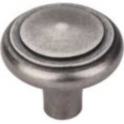 "Top Knobs M1490 Aspen 1 5/8"" Cast Bronze Mushroom Shaped Peak Cabinet Knob in Silicon Bronze Light"