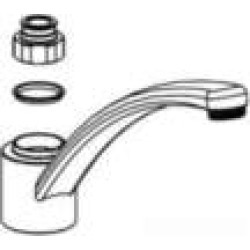 Moen 100227 Spout Nut Kit for Single Handle Kitchen Faucet in Chrome