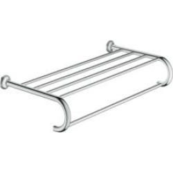 """Grohe 40660 Essentials Authentic 21 3/8"""" Wall Mount Multi Towel Rack"""