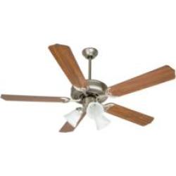 "Craftmade K10405 Pro Builder 205 5 Blades 52"" Indoor Ceiling Fan with Incandescent Light Kit in Walnut"