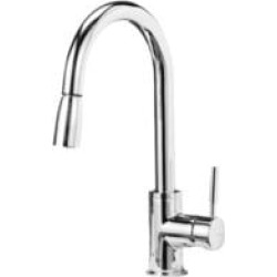 Blanco 441761 Sonoma 1.5 GPM Single Handle Kitchen Faucet with Pulldown Spray in Chrome found on Bargain Bro India from Decor Planet for $243.75