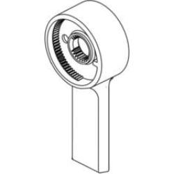 Delta RP91911 Pivotal Volume Control Lever Handle for T17 Series Shower Trim