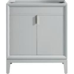 "Avanity EMMA-V30-DG Emma 30"" Freestanding Single Bathroom Vanity in Dove Gray"