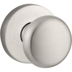 """Baldwin HDROUCRR Reserve 2 1/4"""" Single Dummy Round Door Knob with Contemporary Round Rosette"""
