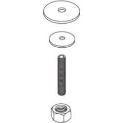 Moen 98079 Mounting Hardware Kit for Two Handle Bidet Faucet