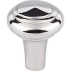 "Top Knobs M2040 Aspen II 1"" Cast Bronze Mushroom Shaped Peak Cabinet Knob in Polished Nickel"