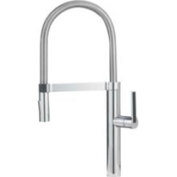 Blanco 441331 Culina Semi Professional 2.2 GPM Single Handle Kitchen Faucet with Pulldown Spray in Chrome found on Bargain Bro India from Decor Planet for $562.25