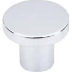 "Top Knobs TK110PC Additions 1 3/8"" Zinc Alloy Mushroom Shaped Harmony Cabinet Knob in Polished Chrome"