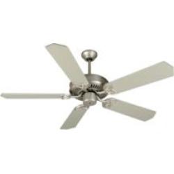 """Craftmade K10942 CXL 5 Blades 52"""" Indoor Ceiling Fan in Brushed Nickel"""
