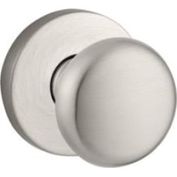 """Baldwin ENROUCRR Reserve 2 1/4"""" Keyed Entry Door Knob with Contemporary Round Rosette"""