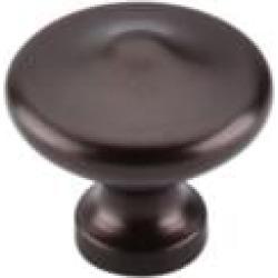 "Top Knobs M1227 Dakota 1 3/8"" Zinc Alloy Mushroom Shaped Peak Cabinet Knob in Oil Rubbed Bronze"