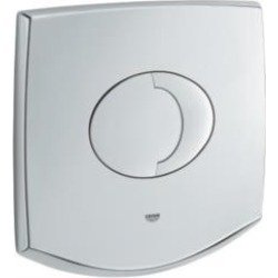 "Grohe 38540000 Chiara and Sentosa 8"" Wall Mount Top Plate in Chrome"