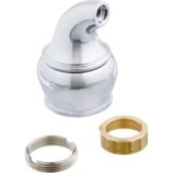 Moen 100552 Monticello Cold Lever Handle Hub Kit in Chrome