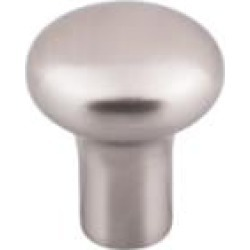 "Top Knobs M2080 Aspen II 1 1/8"" Cast Bronze Round Shaped Round Cabinet Knob in Brushed Satin Nickel"