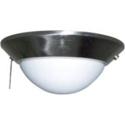 """Craftmade ELKD-10BNK Elegance 1 Light 10 1/4"""" Bowl Fan Light Kit in Brushed Polished Nickel"""