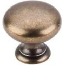 "Top Knobs M287 Somerset II 1 1/4"" Brass Mushroom Shaped Cabinet Knob in German Bronze"