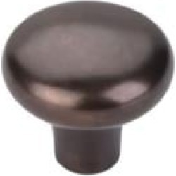 "Top Knobs M1562 Aspen 1 5/8"" Cast Bronze Round Shaped Cabinet Knob in Medium Bronze"
