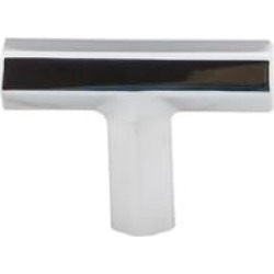"Top Knobs TK790 Serene 1 3/4"" Zinc Alloy T-Handle Shaped Lydia T Shape Cabinet Knob"