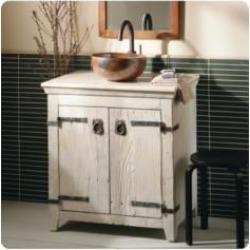 "Native Trails BNDA01 Americana 30"" Freestanding Single Bathroom Vanity Set in Whitewash"
