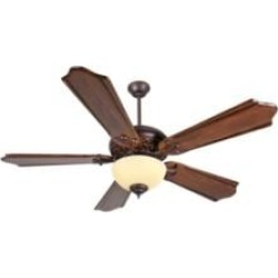 """Craftmade K11011 Mia 5 Blades 56"""" Indoor Ceiling Fan with Fluorescent Light Kit in Classic Ebony"""