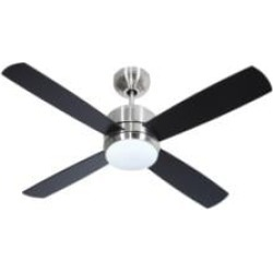 """Craftmade MN44BNK4 Montreal 4 Blades 44"""" Indoor Ceiling Fan in Brushed Polished Nickel"""