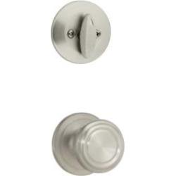 "Kwikset 604CN Signature Cameron 2 5/8"" Single Cylinder Interior Pack Knob Entry Set"