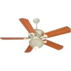 """Craftmade K10723 Mia 5 Blades 52"""" Indoor Ceiling Fan with Fluorescent Light Kit in Cherry and Rosewood"""