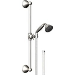 Rubinet 4GRV0 Raven Adjustable Slide Bar & Hand Held Shower Assembly found on Bargain Bro Philippines from Decor Planet for $355.50