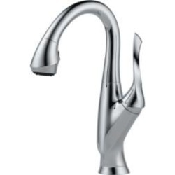 Brizo 63952LF Belo Single Handle Pull-Down Bar/Prep Faucet