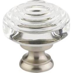 Emtek EM-86564 Crystal & Porcelain Deco 1 5/8