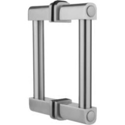 "Jaclo H80-BB Contempo 6"" - 32"" Back to Back Shower Door Handle Pull Bar"