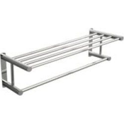 """Valsan M667CR Classic 24 1/2"""" Wall Mount Towel Rack in Chrome"""