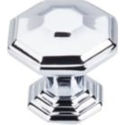 "Top Knobs TK348 Chareau 1 1/2"" Zinc Alloy Geometric Shaped Chalet Cabinet Knob"