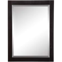 Decolav 9719-BKA Briana  Rectangular Wall Mirror in Black Ash found on Bargain Bro India from Decor Planet for $337.50