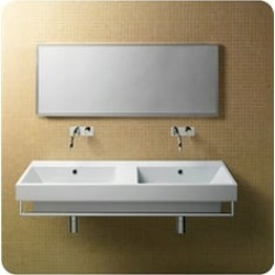 Catalano 1125ZE00 Zero 125 Double Sink Washbasin found on Bargain Bro Philippines from Decor Planet for $1421.25