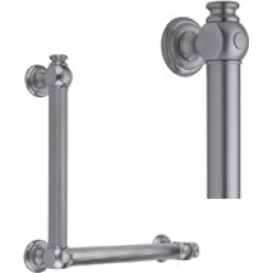Jaclo G60-32H-12W-RH 90� Luxury Grab Bar - Smooth with End Caps found on Bargain Bro Philippines from Decor Planet for $543.00
