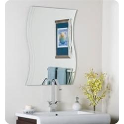 Decor Wonderland SSM1001 Wave Frameless Wall Mirror