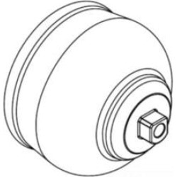 Moen 115051 Handle Hub for Single Handle Tub Shower