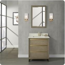 "Fairmont Designs 15-V30 Ambassador 30"" Freestanding Single Bathroom Vanity Base"