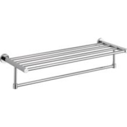 """Delta IAO20130 Lilah 24"""" Wall Mount Towel Rack in Chrome"""