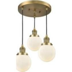 Innovations Lighting 211-3-BB-G201-6 Beacon 16