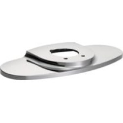 Moen 99557 M-Power Oval Shaped Escutcheon and Gasket Kit in Chrome