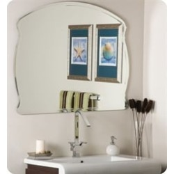 Decor Wonderland SSM1060 Wonder Frameless Wall Mirror