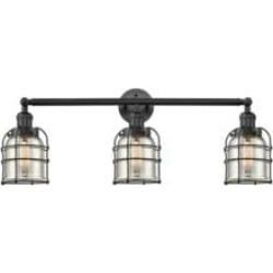 Innovations Lighting 205-BK-S-G58-CE Small Bell Cage 31