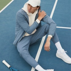 Sport Jogger | Uniform by Everlane in Sea Storm, Size L found on Bargain Bro Philippines from Everlane for $68.00