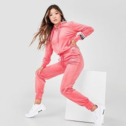 Juicy Couture Women's Juicy Sport Velour Jogger Pants in Pink/Juicy Pink Size X-Large Polyester/Spandex/Velour found on MODAPINS from Finish Line for USD $89.00