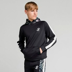 Illusive London Boys' Dark Tropical Taped Hoodie in Black Size 10 Polyester/Knit found on MODAPINS from Finish Line for USD $50.00