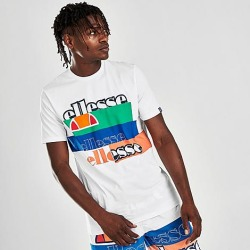 Ellesse Men's Laboratory T-Shirt in White Size Large 100% Cotton found on MODAPINS from Finish Line for USD $20.00